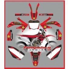 honda crf450 2008 rockstar red