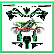 kawasaki fx team graphics kx450f kxf450 2012 2013