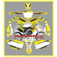 suzuki rmz250 2010 2013 rockstar yellow