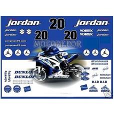 jordan azul