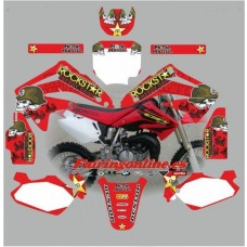 Honda CR85 2003-2012 ROCKSTAR RED