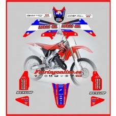 honda lucas oil graphics cr125 cr250 2002-2007