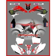 honda team graphics backgrounds cr125 cr250 white 02