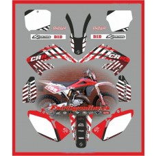 honda team graphics back grounds cr125 cr250 white cr  2002 2008
