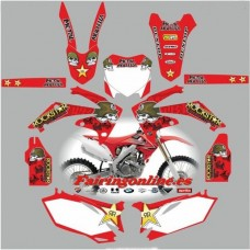 honda crf250 2010 2013 metal mulisha red