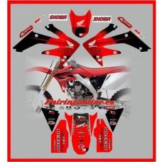 honda crf250r crf250 2004 2009 moto x