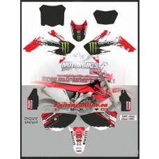 honda crf250x 04 05 06 07 08 09 10 11 full moto x