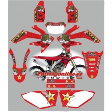 honda crf250x 2008 metal mulisha red