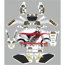 honda crf250x 2008 metal mulisha white