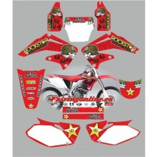 honda crf450 2002 2004 metal mulisha red