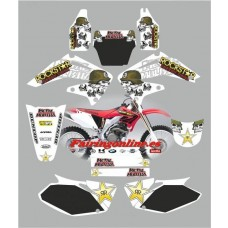 honda crf450 2002 2004 metal mulisha white