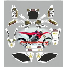 honda crf450 2005 2007 metal mulisha white