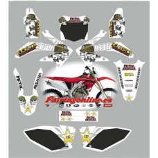 honda crf450 2008 metal mulisha white