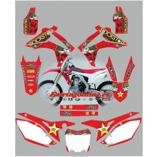 honda crf450 2013 metal mulisha red