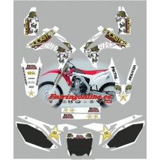 honda crf450 2013 metal mulisha white
