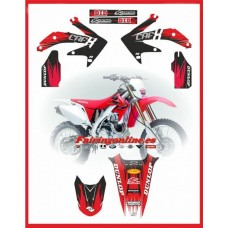honda pts pro team series graphics crfx450x