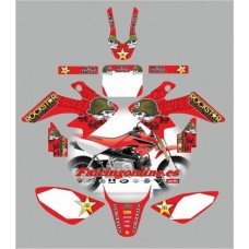honda crf50 2004 2013metal mulisha red