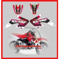 honda crf 50 red