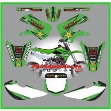 kawasaki kx65 2007 2013 rockstar green