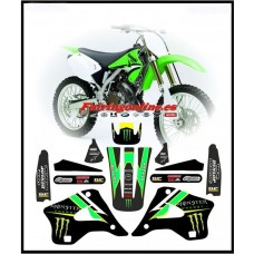 kawasaki team energy graphics kx kx125 kx250 1994 1995 1996 1997 1998