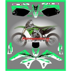 kawasaki team graphics kxf kx250f