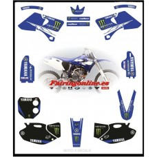 yamaha yzf400 1998 2002 monster motorcross-