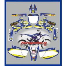 yamaha rockstar blue yzf250 400 426 1998 2002