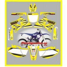 yamaha rockstar yellow yzf250 400 426 1998 2002
