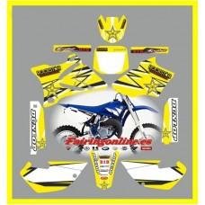 yamaha rockstar yellow yz85 2002 2013
