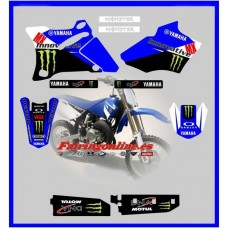 yamaha team innovative mx team graphics yz85