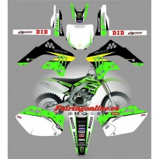 kawasaki kxf450 2006 2008 monster