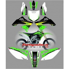 kawasaki kxf450 2009 2011 monster
