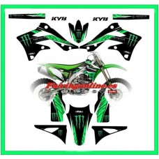 kawasaki fx team graphics kx450f kxf450 2012 2013