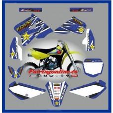 suzuki rm85 2001 2013 rockstar yellow