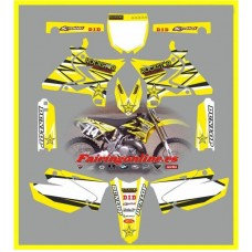 yamaha rockstar yellow yz125 250 2012 2013