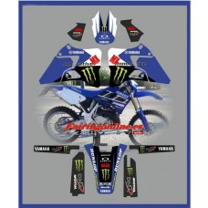 yamaha team blue graphics yz125 yz250 1996 200