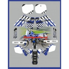 yamaha ts1 team graphics yz125 yz250 96 97 98 99 2000 2001