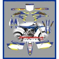 yamaha rockstar blue yzf250 2010 2013