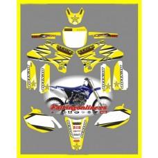 yamaha rockstar yellow yzf250 450 2002 2005