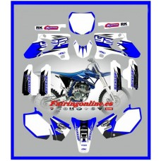 yamaha team graphics wht backgrounds yz250f yz450f yz250 yzf 03 04 05