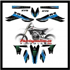 yamaha team graphics yz450f yzf450 2010 2011 2012 2013