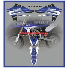 yamaha team yz450f yzf450 2010 2013