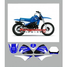 yamaha pw80 team graphics and backgrounds