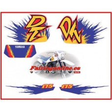 yamaha dt175 decal sticker graphic