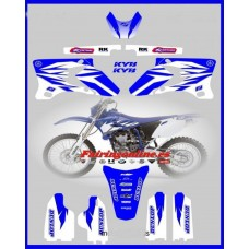yamaha full graphics kit wr250f wr450f 2005 2006