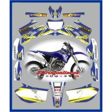 yamaha rockstar blue wr450f 2007 2011