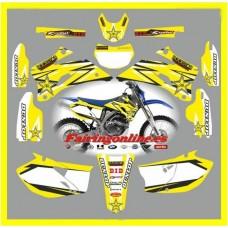 yamaha rockstar yellow wr250f 2007 2013