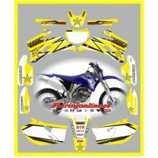 yamaha rockstar yellow wr450f 2007 2011
