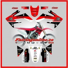 honda c reed 22 team graphics 2004 05 06 07-08 09 crf250r crf250