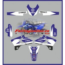 yamaha yz450-f 2005 decal graphics stickers se
